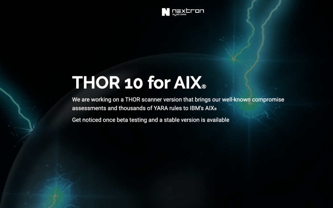THOR 10 for AIX