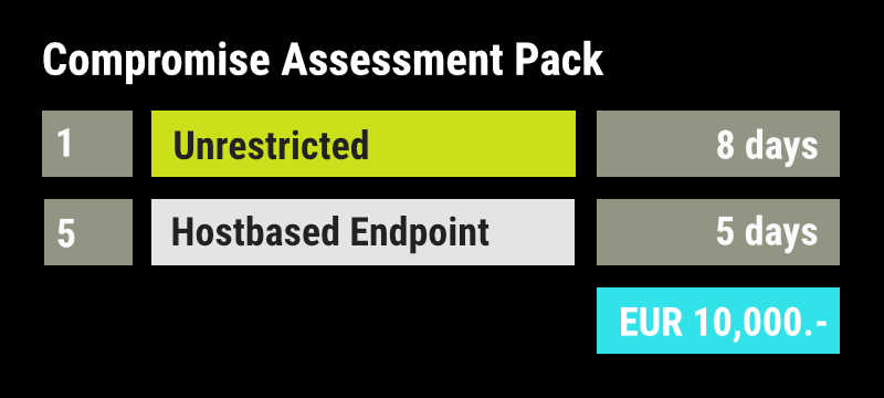 Compromise Assessment Pack